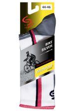 WYPRZEDAŻ! Skarpetki rowerowe BIKE DEODORANT SILVER antyzapachowe ze srebrem